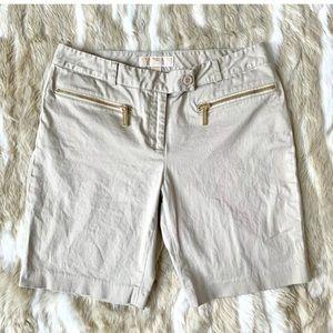 MICHAEL KORS Khaki Bermuda Shorts